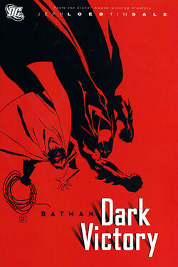 Cover for the Batman: Dark Victory Trade Paperback