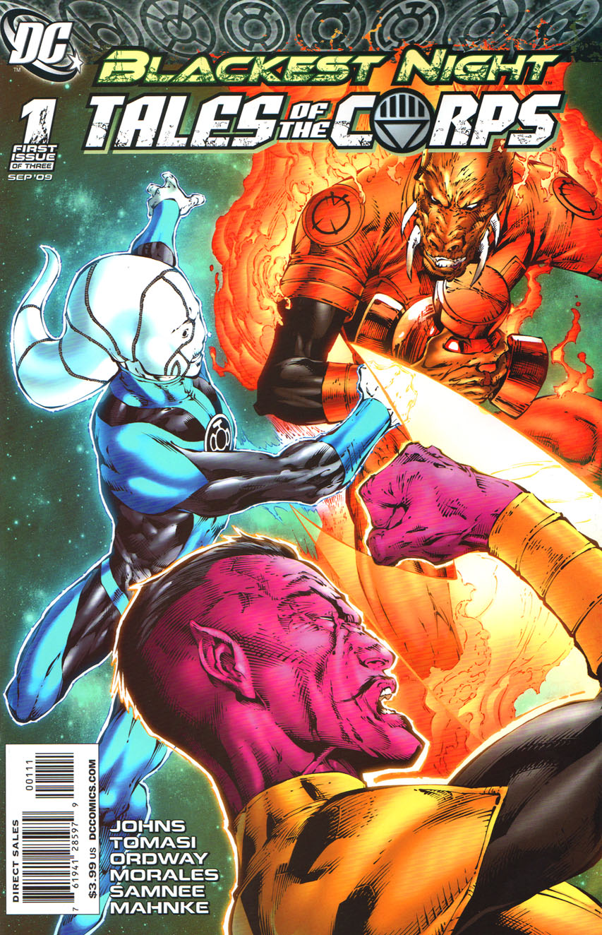 DC Comics Blackest Night # 1 Comic Book Free Shipping First Issue