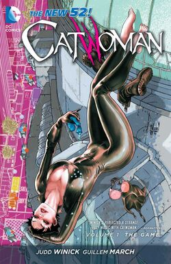 Cover for the Catwoman: The Game Trade Paperback