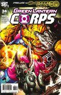 Green Lantern Corps Vol 2 34A