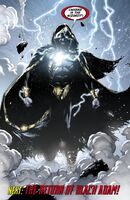 Black Adam is freed after millennia.