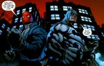 Batman and Red Hood Team Up