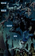 "Batman fights aganinst ""The Body"""