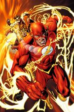 Bart as The Flash.
