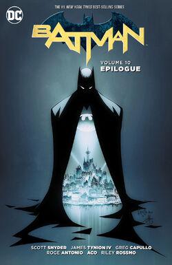 Cover for the Batman: Epilogue Trade Paperback