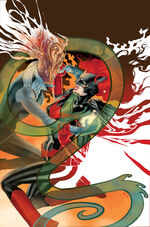 Batwoman fights the shapeshifter Maro Ito