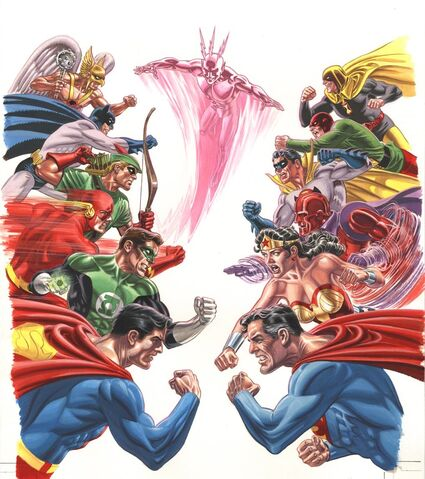 File:Crisis on Multiple Earths Vol. 2 Textless.jpg