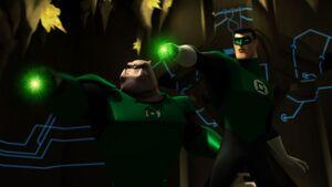 GLAS - Hal and Kilowog