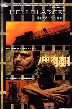 Cover for the Hellblazer: Hard Time Trade Paperback