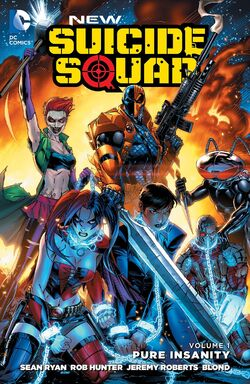 Cover for the New Suicide Squad: Pure Insanity Trade Paperback