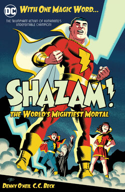 Cover for the Shazam!: The World's Mightiest Mortal Vol. 1 Trade Paperback
