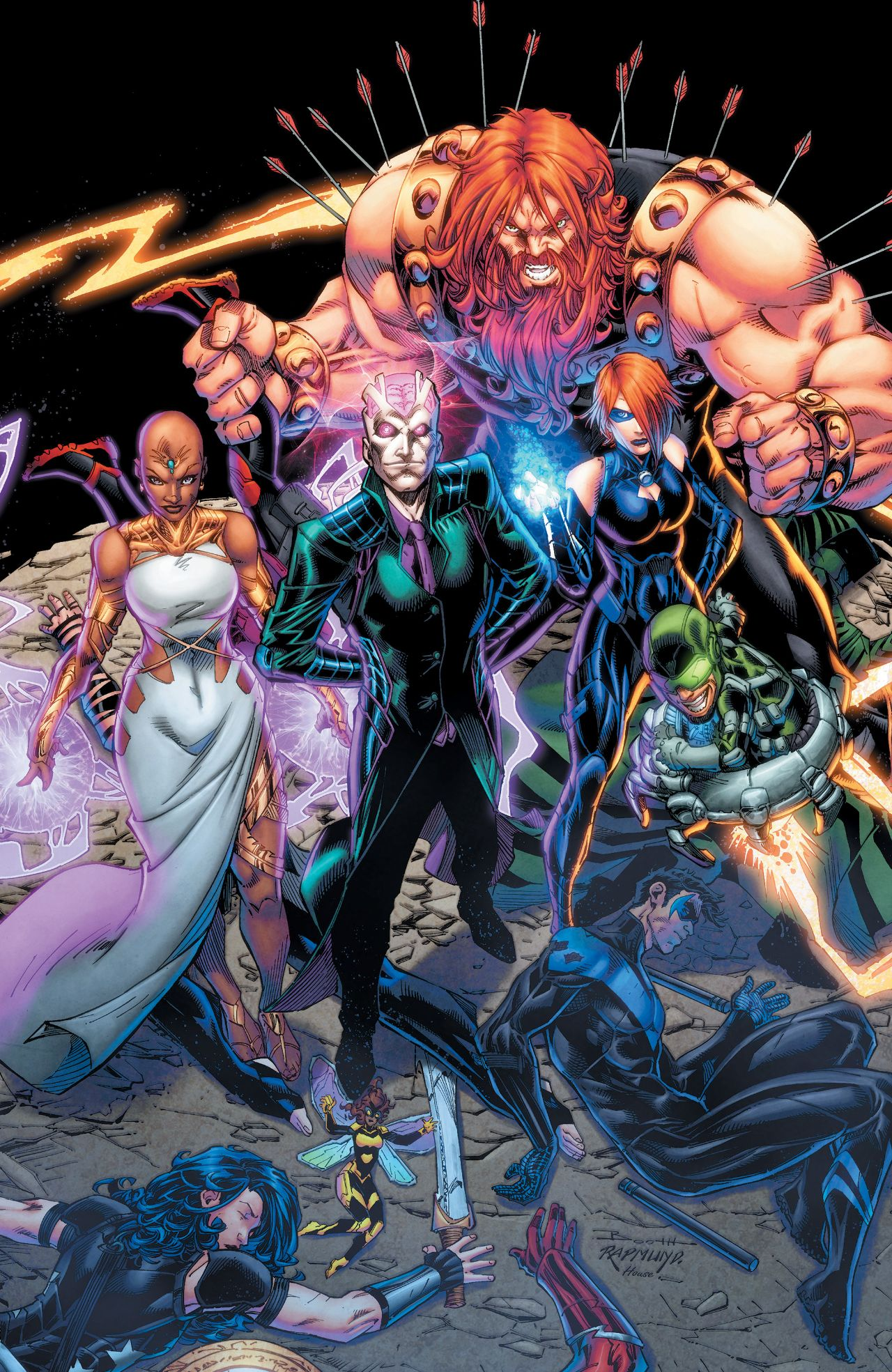 fearsome five prime earth dc database fandom powered