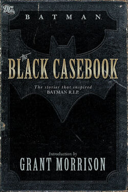 Cover for the Batman: The Black Casebook Trade Paperback
