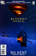 Superman Returns Prequel Vol 1 2 Cover