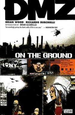 Cover for the DMZ: On the Ground Trade Paperback