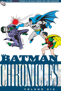 Cover for the Batman Chronicles Vol 6 Trade Paperback