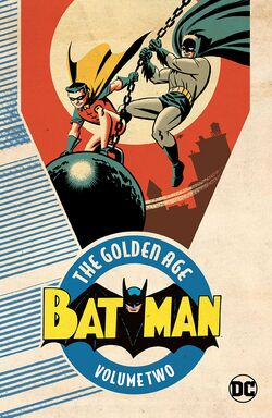 Cover for the Batman: The Golden Age Vol. 2 Trade Paperback