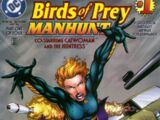 Birds of Prey: Manhunt Vol 1 1