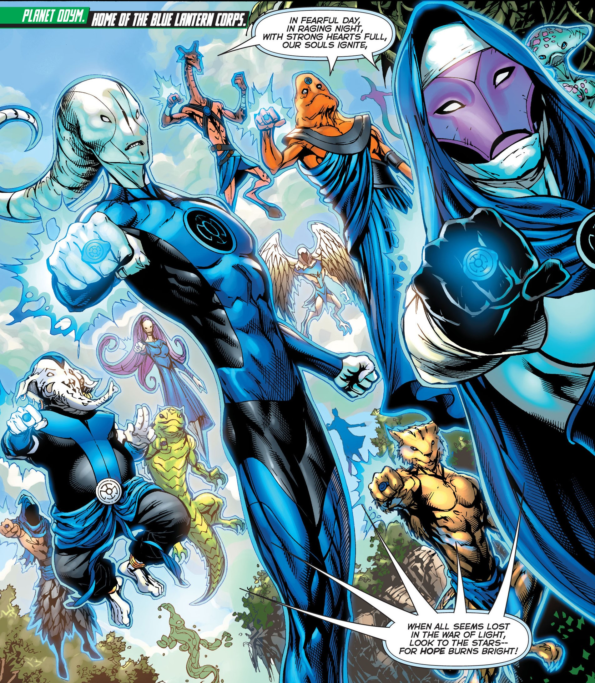 Blue Lantern Corps (Prime Earth) | DC Database | Fandom