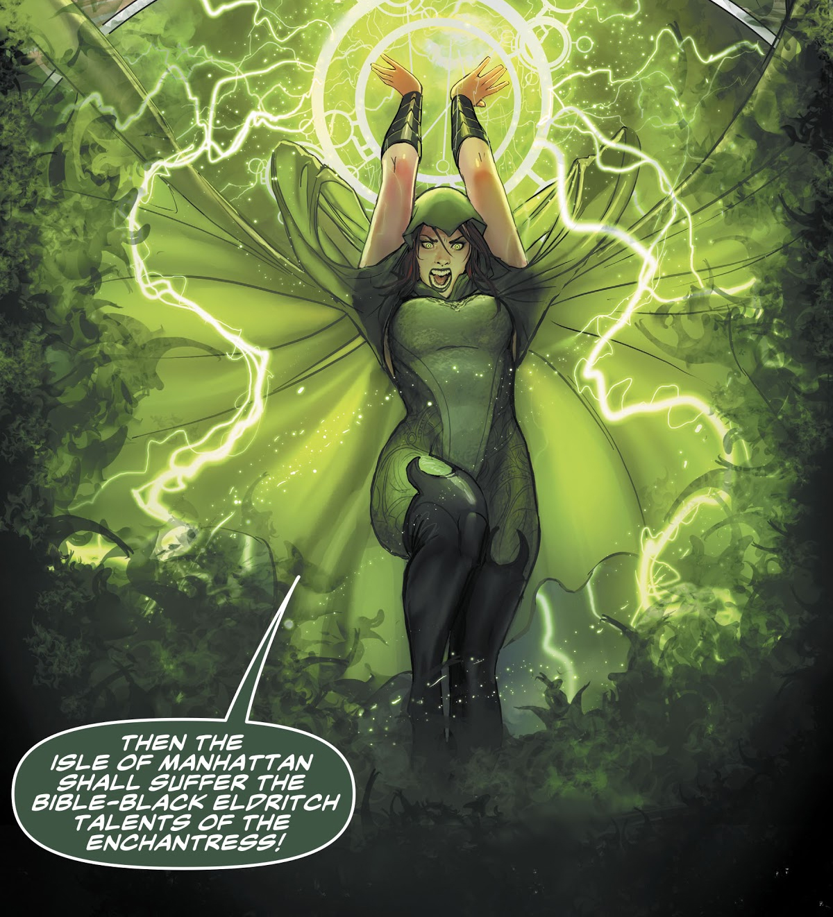 Enchantress Prime Earth Dc Database Fandom Powered