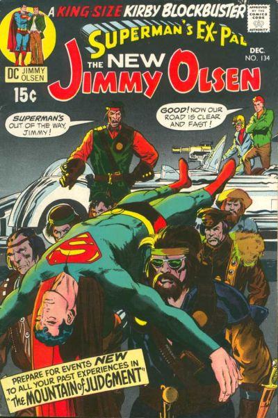 Image result for Superman's Pal Jimmy Olsen #134