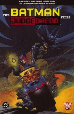 Cover for the The Batman/Judge Dredd Files Trade Paperback