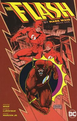 Cover for the The Flash by Mark Waid: Book One Trade Paperback
