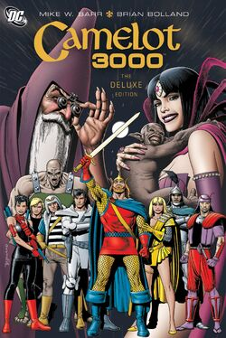 Cover for the Camelot 3000 Trade Paperback