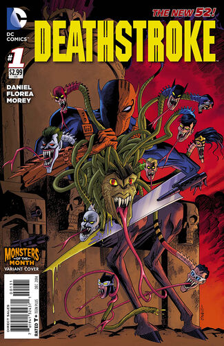 [[Kevin O'Neill]] Monsters of the Month Variant