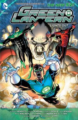 Cover for the Green Lantern: Lights Out Trade Paperback