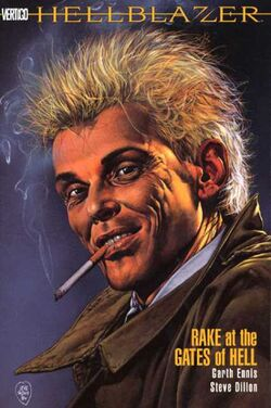 Cover for the Hellblazer: Rake at the Gates of Hell Trade Paperback
