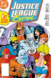 Justice League Europe Vol 1 1