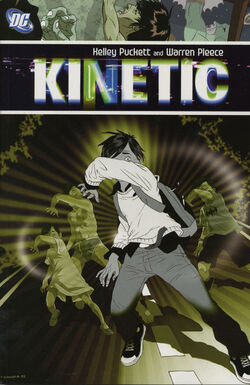 Cover for the Kinetic Trade Paperback