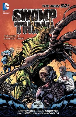 Cover for the Swamp Thing: Family Tree Trade Paperback