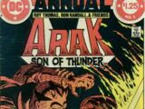 Arak: Son of Thunder Annual Vol 1 1