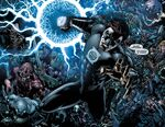 Hal as the leader of the Black Lantern Corps