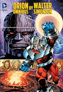 Cover for the Orion by Walter Simonson Omnibus Trade Paperback