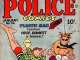 Police Comics Vol 1 74