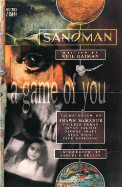 Cover for the Sandman: A Game of You Trade Paperback