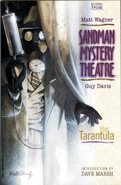 Cover for the Sandman Mystery Theatre: The Tarantula Trade Paperback