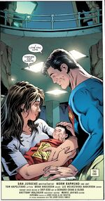 Lois and Clark have a baby boy