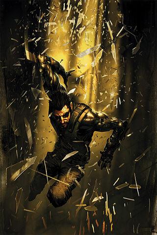 File:Deus Ex Vol 1 1 Textless.jpg