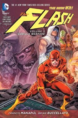 Cover for the Flash: Gorilla Warfare Trade Paperback