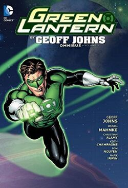 Cover for the Green Lantern by Geoff Johns Omnibus Vol. 3 Trade Paperback