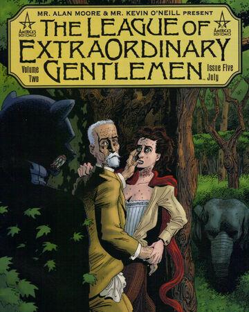 League Of Extraordinary Gentlemen Vol 2 5 Dc Database Fandom