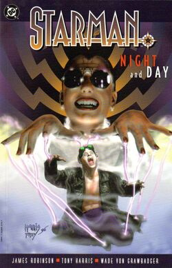 Cover for the Starman: Night and Day Trade Paperback