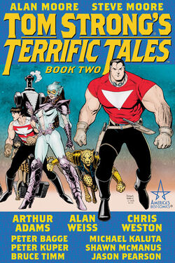 Cover for the Tom Strong's Terrific Tales Vol. 2 Trade Paperback