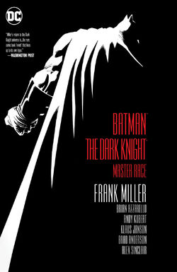 Cover for the Dark Knight III: The Master Race Trade Paperback