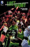 Green Lantern Corps Lost Army