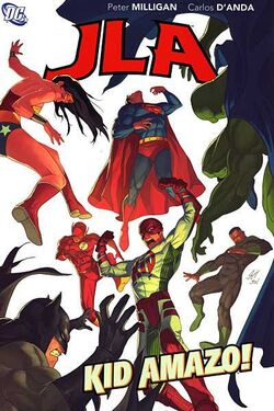 Cover for the JLA: Kid Amazo Trade Paperback